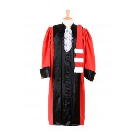 ROBE PROFESSEUR DE DROIT - LA TRADITIONNELLE ROUGE