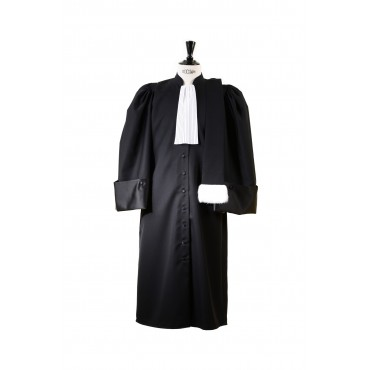 Robe Avocat modele la traditionnelle
