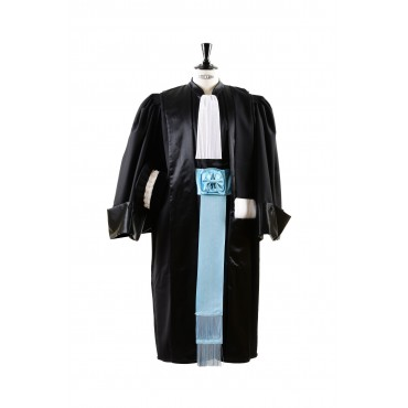 Robe Ecole Nationale de la Magistrature pack ENM modele La tradionnelle